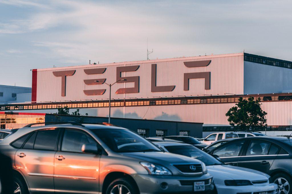 Tesla car dealer